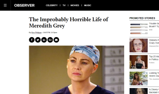 The Improbably Horrible Life of Meredith Grey