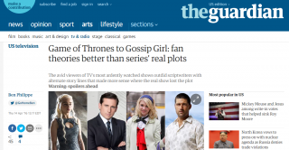 Game of Thrones to Gossip Girl: fan theories better than series' real plots
