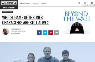 Which GAME OF THRONES Characters Are Still Alive?