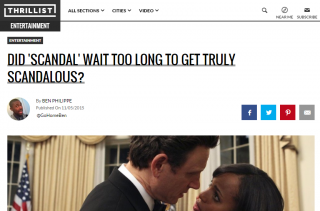 Did SCANDAL Wait Too Long to Get Truly Scandalous?
