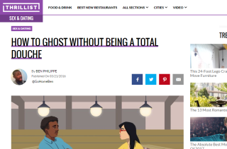 How To Ghost Without Being a Total Douche